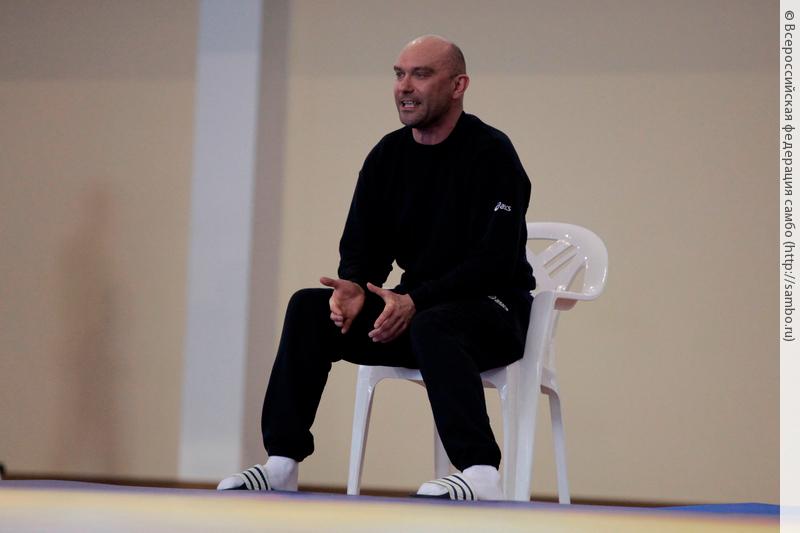 Мастер спорта СССР по самбо и заслуженный тренер России Константин Фофанов.
