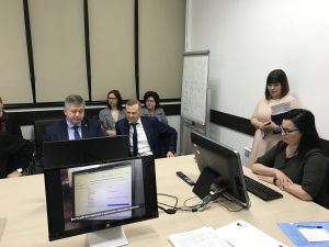 Министр труда и социальной защиты Рязанской области посетил АО «Русская кожа»
