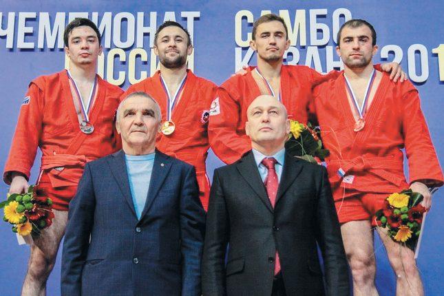 Чемпионат России по самбо: