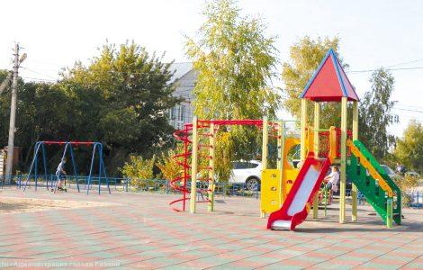 Спортивная площадка в микрорайоне Недостоево
